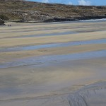 Tide out on Barleycove Beach