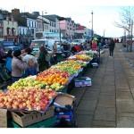 Bantry market day stalls