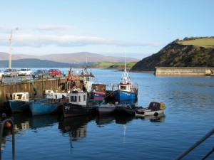 fishing boats bantry pier